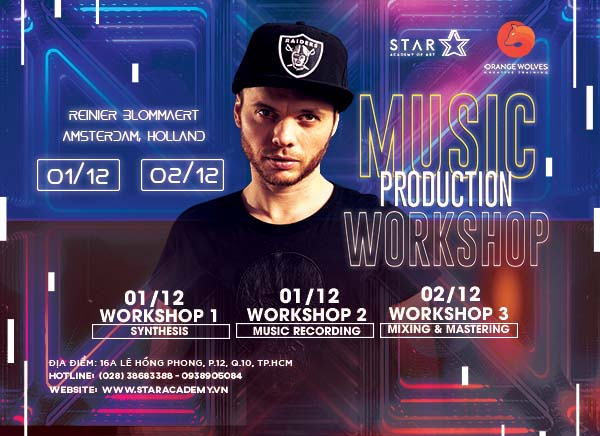 Music Production Workshop  02/12/2018